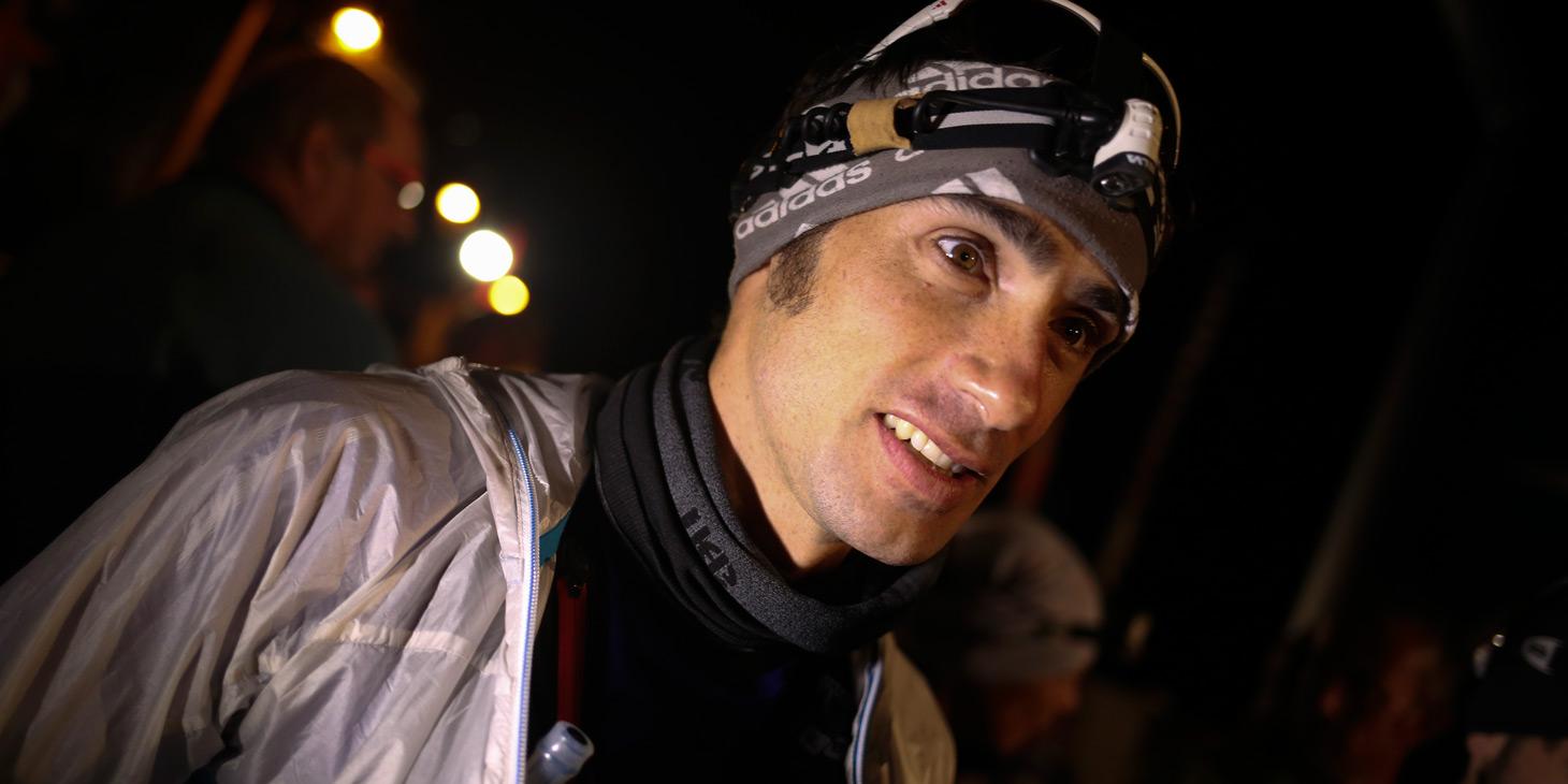 Luis Alberto Hernando, 2015 European Ultra Skyrunning Champion and 2014 & 2106 World Champion. ©iancorless.com / ISF