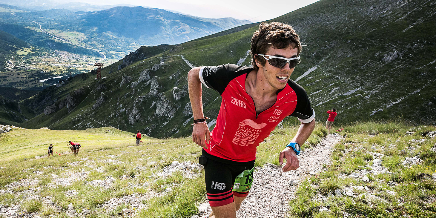 Jan Margarit (ESP) winner 18-20 category SkyRace, Youth Skyrunning World Championships. ©fabriziopolitti.it