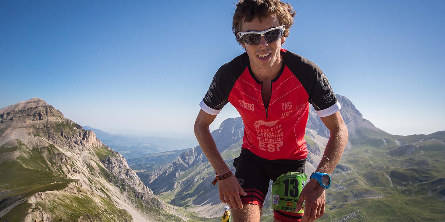 Spaniard Jan Margarit, 18-year-old skyrunning champion. 2016. ©fabriziopoliti.it