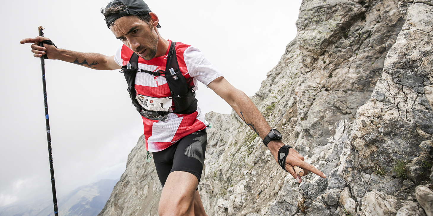 Luis Alberto Hernando, 2016 Ultra Champion on the Buff Epic Trail 105K. ©iancorless.com