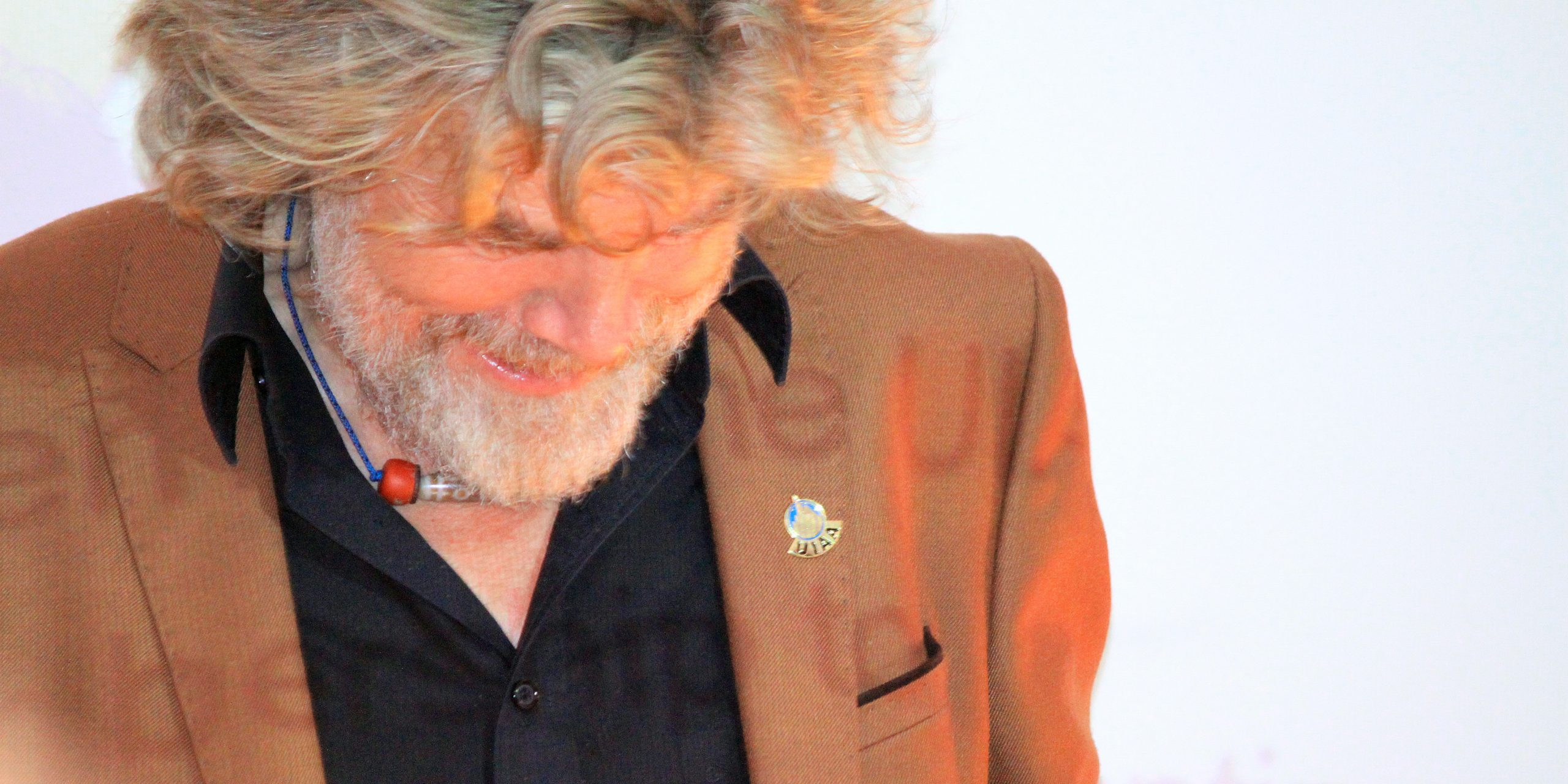 Reinhold Messner, pioneer of fast and light mountaineering. ©The UIAA
