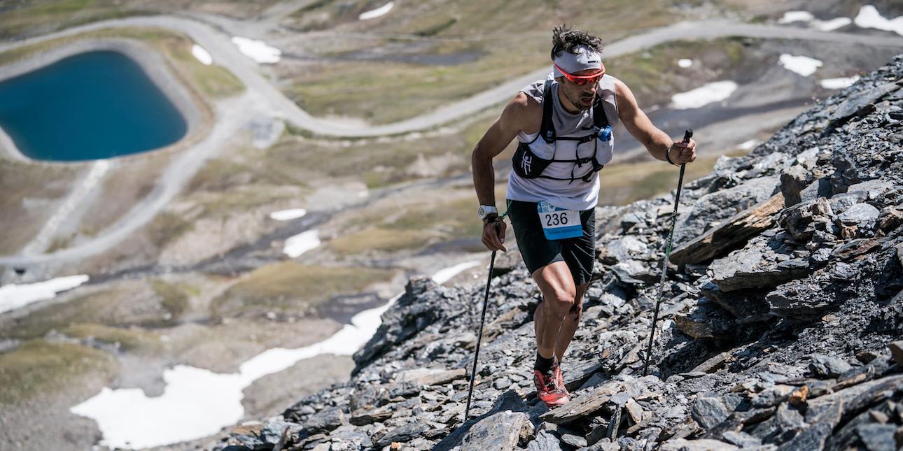 Luis Alberto Hernando, 2017 Skyrunning European Champion, Odlo High Trail Vanoise. ©iancorless.com ISF