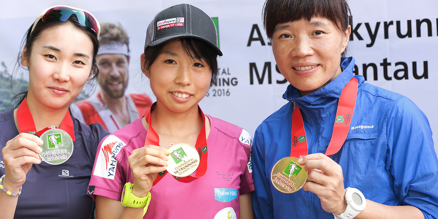 Asian Champs Sky champions - gold, Takamura Takako (Japan), silver, Sooji Park (South Korea) , bronze Yin Hung Tsang (China).