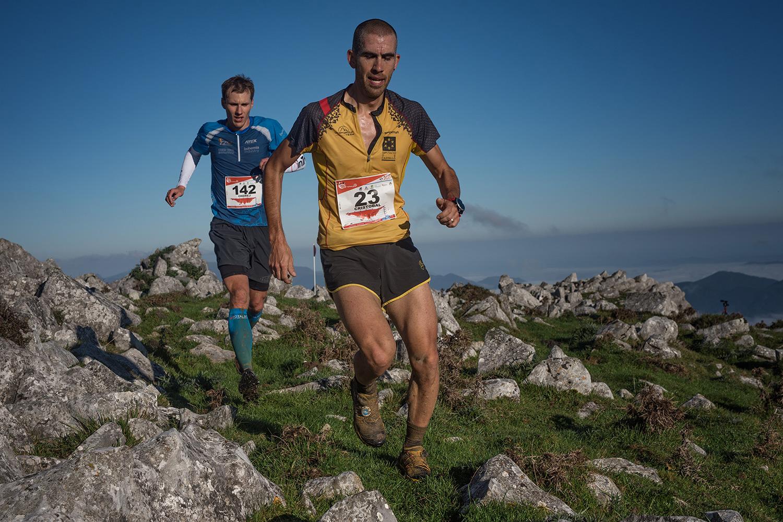 Spain's Cristobal Adell, bronze medallist followed by Ondrej Fejfar, Czech Republic. @Jacek-Daneka