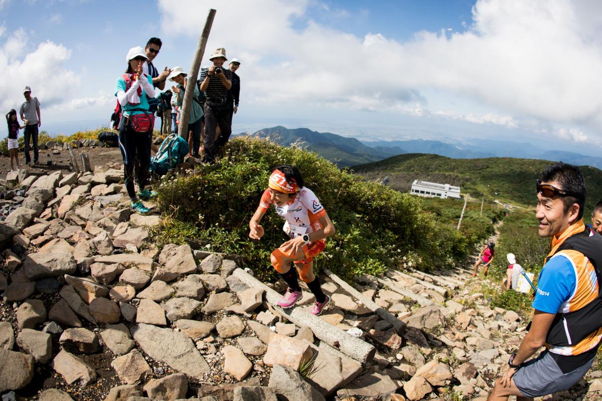 Japan's Yuri Yoshizumi, VK gold medallist on her way to victory. ©Sho Fujimaki
