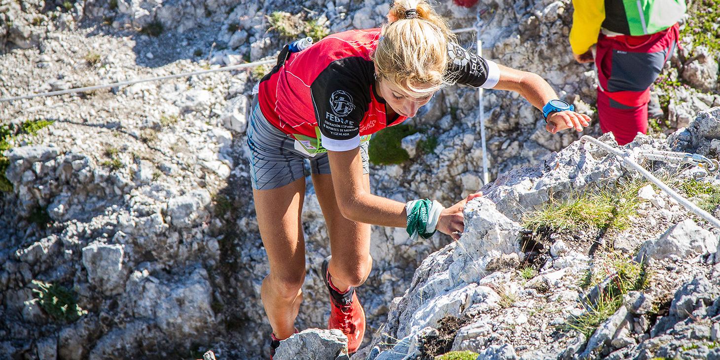 Paola Cabrerizo (ESP) Combined Champion, Youth Skyrunning World Championships. ©fabriziopolitti.it